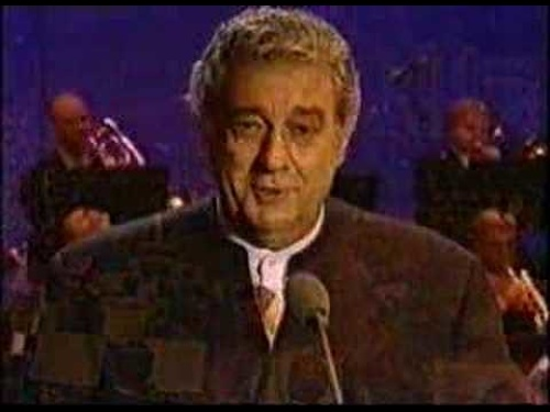 "Placido Domingo ""Granada"""